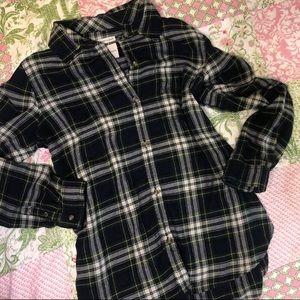 AEO plaid flannel shirt